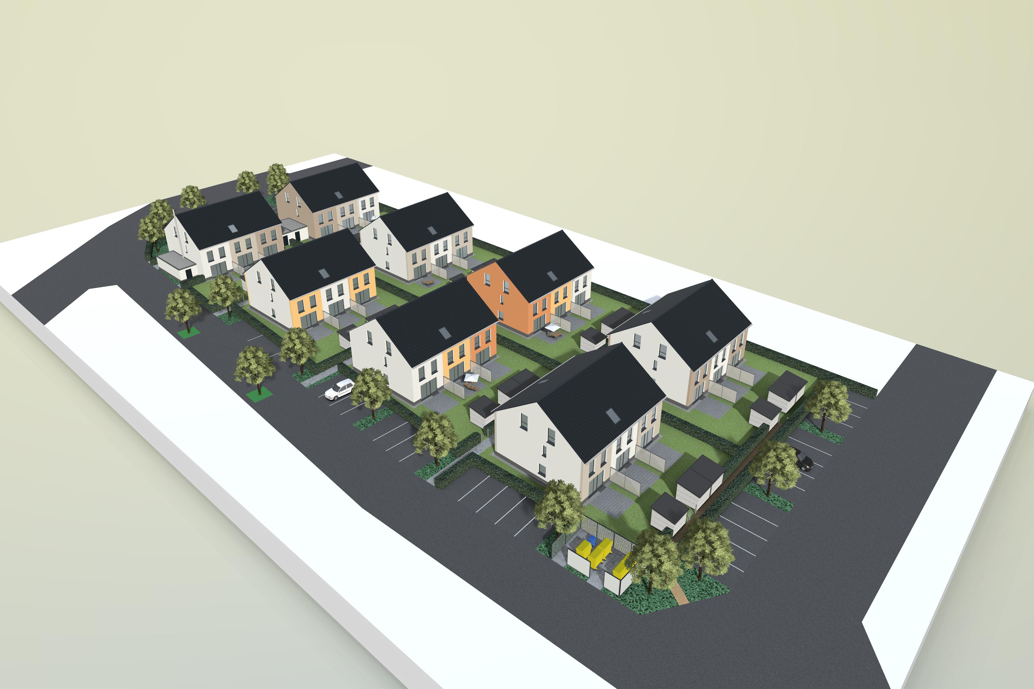 24 Häuser Im Wohnpark U201eAlter Hofu201c: Deutsche Reihenhaus Baut Zum Ersten Mal  In Seligenstadt Und Investiert Dabei 5,5 Millionen Euro